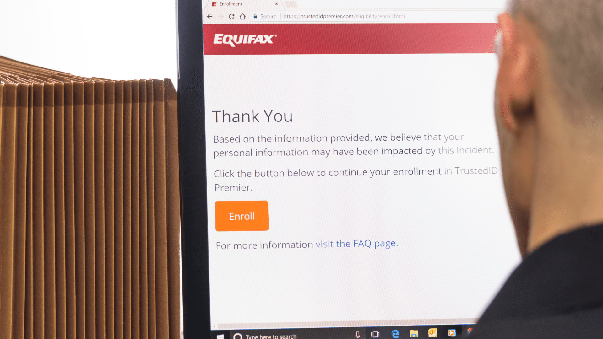 equifax personal information impact check